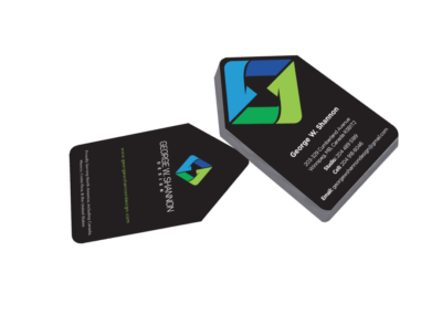George Shannon Design Business Cards